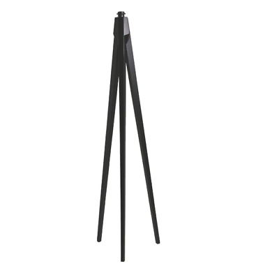 Habitat Dark Stained Wooden Tripod Floor Lamp (Base Only) 29256