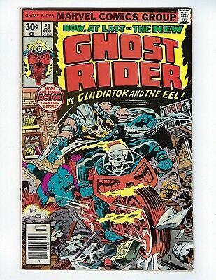 GHOST RIDER (Vol.1) # 19 (CENTS ISSUE, DEC 1976), FN-