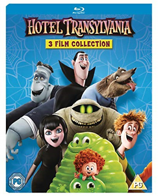 Hotel Transylvania 3 Film Collection (UK IMPORT) BLU-RAY NEW