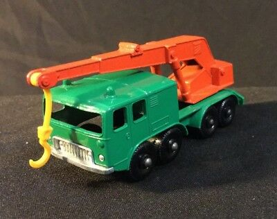 Vintage Lesney Matchbox No 30 Wheel Crane