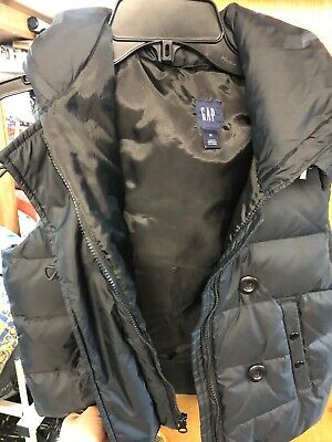 Gap Winter Puffer Coat Vest Hooded Down Jacket Mint Condition