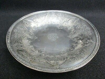 Vintage Wilcox S. P. Co. International Silver Co. Ornate Small Dish Bowl 336