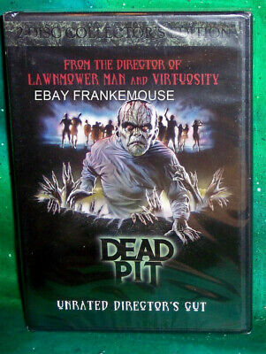 New Rare Oop Code Red Dead Pit Ur Director Cut 2 Disc Zombie Horror Dvd 1989