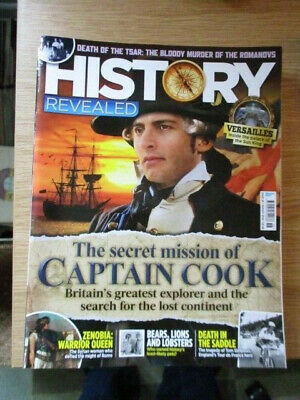 History Revealed Magazine Issue 58 August 2018 Captain Cook