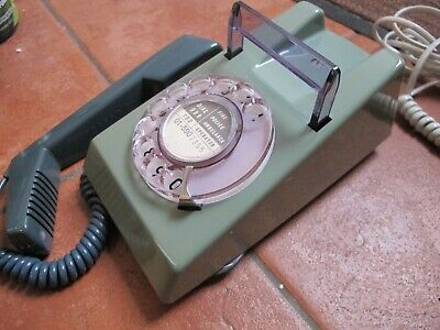 Vintage GPO 1970's Rotary Dial Trimphone, blue - Fully converted