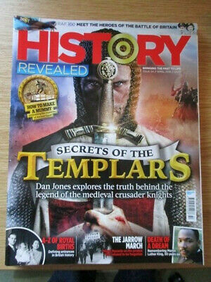 History Revealed Magazine Issue 54 April 2018 Secrets of the Templars