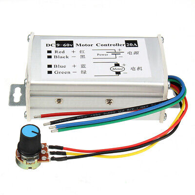 Pulse Speed Controller Switch Width Control 18A Wiring DC 9V-60V Potentiometer