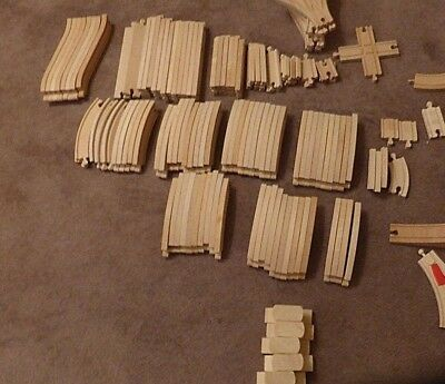 Brio & Compatible Wooden Train Track Selection with Combined Postage