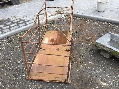 architectural antiques Salvage Wrought Iron Pig Pen