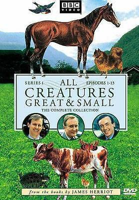 All Creatures Great and Small - Series One Set (DVD, 2009, 4-Disc Set, Alpha...