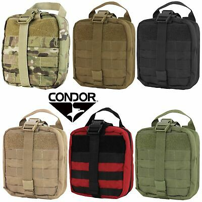 Condor MA41 Tactical EMT Rip Away MOLLE First Aid Combat Medic Tool Kit Pouch
