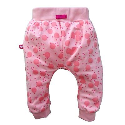 BNWT Baby Infant Girls CORAL Trousers Joggers Pants 100% COTTON