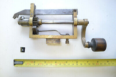 a) Antique/Vintage CLOCK MAINSPRING WINDER watchmakers tools