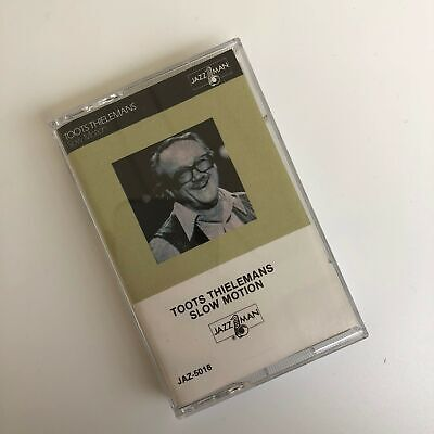 Toots Thielemans Slow Motion Cassette First American Records 1981