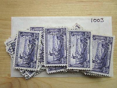 # 1003 x 100 Used US Stamps  Battle of Brooklyn Issue  see our other lots