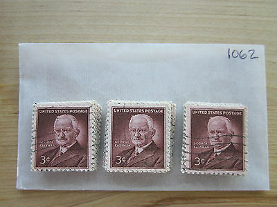 # 1062 x 100 Used US Stamps Lot  George Eastman Issue  See our other lots