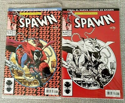 Spawn 227 Regular & Variant Lot - Mexican Edition - Todd McFarlane - New Sealed!