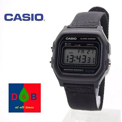 Casio W-59B-1AVEF Collection Digital LCD Watch with Stopwatch Timer and Alarm