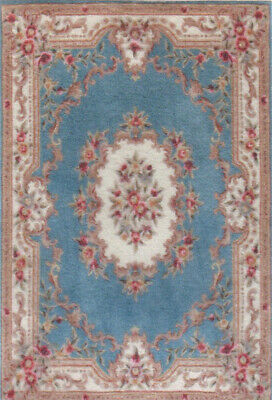 """0002030 1:24 or 1//2/"""" Scale Dollhouse Miniature Area Rug approx 4/"""" x 5-3//4/"""""""