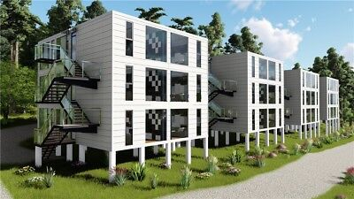 4-PLEX  2Bd/2Bth  2,560 sq.ft Apartment Shipping Container- Seller Financing!