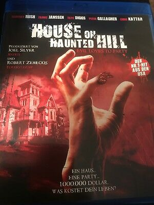 House on Haunted Hill (1999 Blu Ray)