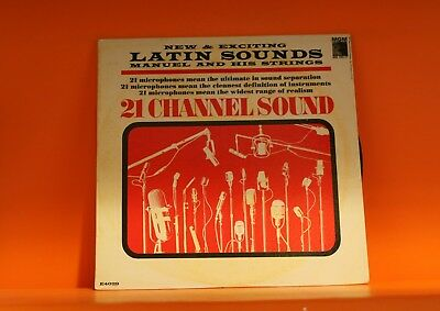Manuel & His Strings - New Latin Sounds - 21 Channel Sound - Mgm Lp Vinyl Record