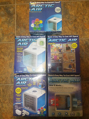 Arctic Air Portable Air Cooler Personal Space Cooler Quick Easy Way Conditioner
