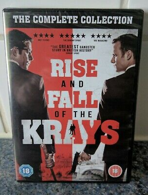The Rise and Fall of the Krays Collection DVD - Brand NEW & Sealed
