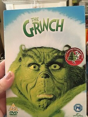 The Grinch [DVD] BRAND NEW AND SEALED FREE UK POST JIM CARREY