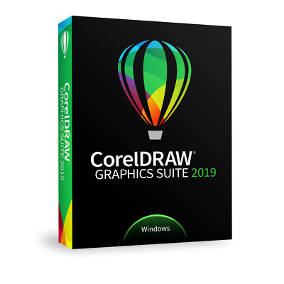 New!! CorelDraw Graphics Suite 2019┃Retail Lifetime Full Version┃+ Free Updates