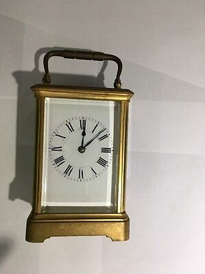 Henri Jacot Brass Carriage Clock Early 1905-1910