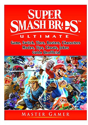 Gamer Master-Super Smash Brothers Ultimate BOOK NEUF
