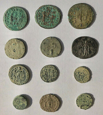 Roman Ancient  Coins- Collection Of 12