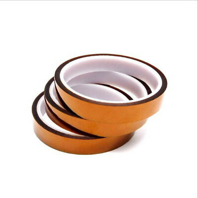 1x100ft 20mm 30M Kapton Tape Adhesive High Temperature Heat Resistant Polyimide