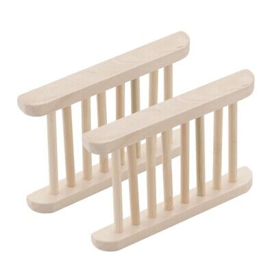 Tray Wood Plate Shower Container Bathroom Bath Home Deco Holder Soap Dish