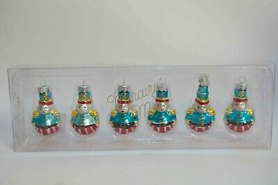Mercury Glass Ornament Elf 12 Pottery Barn Minis Mercury Set