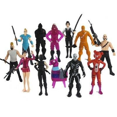 New 12Pcs/Set Fortnite Battle Game Royale Action Figures Save The World Toys