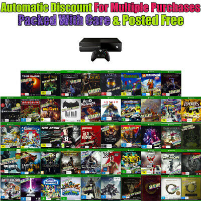 💚 XBOX ONE 🔹 ASSORTED GAME TITLES 🔹 MOST BRAND NEW Your Choice 18/02/20