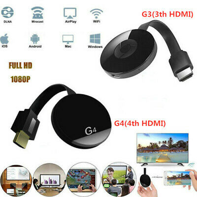 3th/ 4th Generation 1080P HD HDMI Media Video Digital Streamer For Chromecast