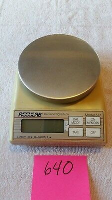 Acculab Model 333 Lab Benchtop Electronic Digital Scale 300g 0.1g
