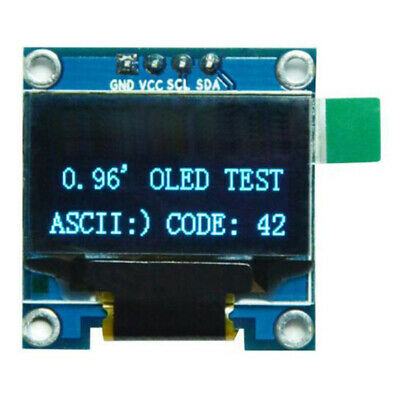 0.96in I2C IIC Serial 128X64 OLED LCD LED Display Module SSD1306 For Arduin R1Q1