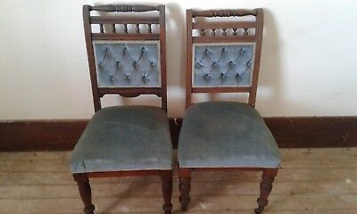 Antique vintage Victorian/Edwardian style chairs