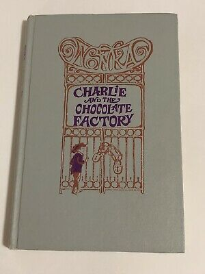Antique Charlie and The Chocoalte Factory 1964 Hardcover Roald Dahl