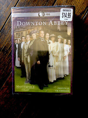 Masterpiece Classic: Downton Abbey - Season 1 (DVD, 2011, 3-Disc Set) Brand New!