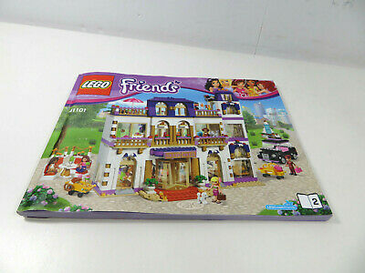 Lego Friends Manual Only New From Set 41119 Heartlake Cupcake