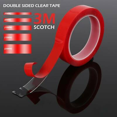 Double-sided Clear Transparent Acrylic Adhesive Tape 3M VHB High strength AU New