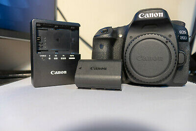 Canon EOS 80D 24.2MP Digital SLR Black (Body Only) - Used