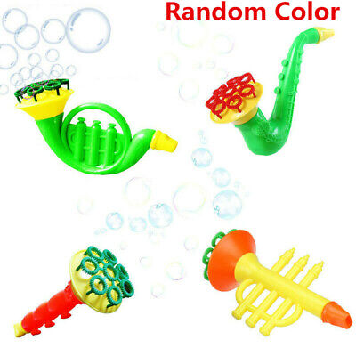 Newly Water Blowing Toys Bubble Soap Bubble Blower Outdoor Kids Child Toys