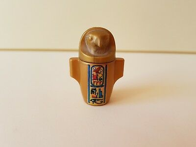 Playmobil Gold Egyptian Horus Jar Canopic Burial Urn  Spare Replacement #310