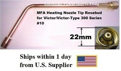 MFA Heating Nozzle Tip Rosebud for Victor/Victor-Type 300 Series #10  (1187-10)